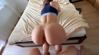 Stepcousin Loves Training At My Dick-cum At Her Ass